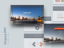 Finance PPT Wide Template