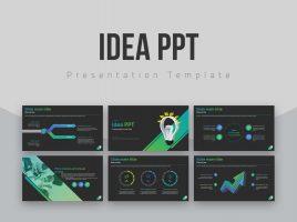Idea PPT Template Wide