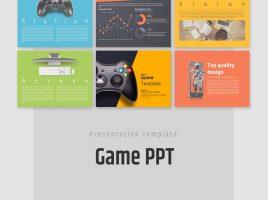 게임 소개를 위한 프레젠테이션 템플릿