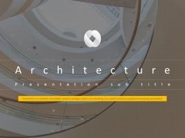 건설 회사 소개를 위한 애니메이션 피피티 템플릿