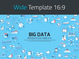 Big Data Presentation Template Wide
