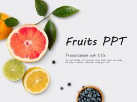 과일 피피티 템플릿