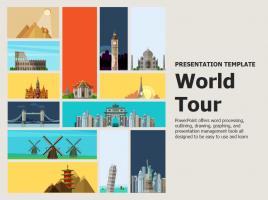 세계여행 파워포인트 템플릿