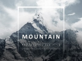 Mountain Animated PPT