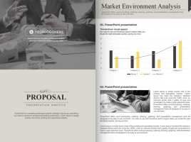 Modern Classic Strategy Proposal PowerPoint Vertical