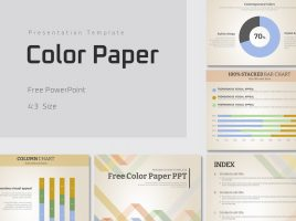 Free Color Paper PPT