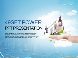 Simple Graphic Business Presentation
