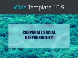 CSR Wide PPT Template