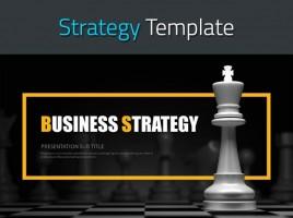 비즈니스 전략 프레젠테이션 템플릿