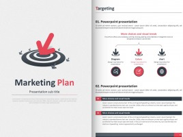 Marketing Plan Strategy PPT Vertical