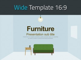 Furniture Presentation Wide
