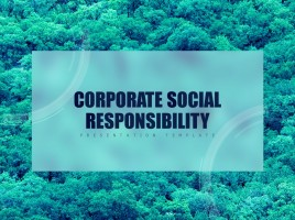 CSR 피피티 템플릿