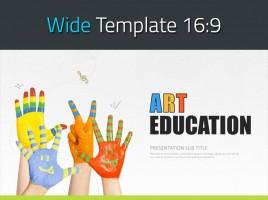 Art Education PPT Wide