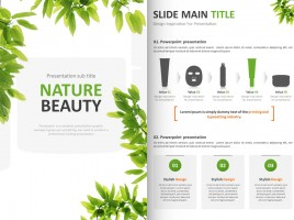 Nature Beauty PPT Vertical