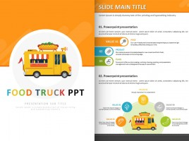 Food Truck PPT Vertical