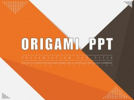 Origami Animated PPT