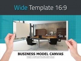 Office PowerPoint Template Wide