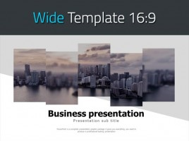 Business Presentation Wide