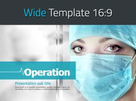 의료수술 와이드 템플릿