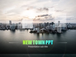 New Town PPT Template
