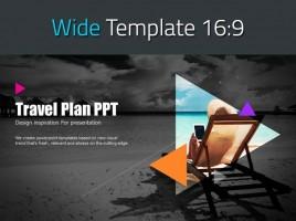 여행계획 와이드 피피티