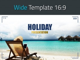Frame Presentation Template Wide