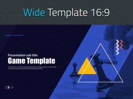 Game PPT Template Wide