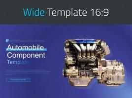 Automobile Component Template Wide
