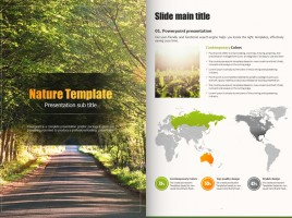 Natural Color Template Vertical