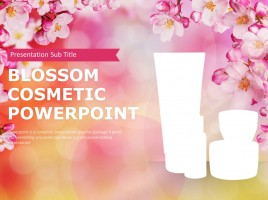 Blossom Cosmetic PowerPoint