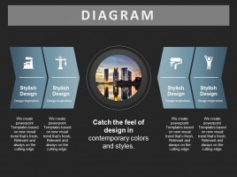 건축 다방향 다이어그램