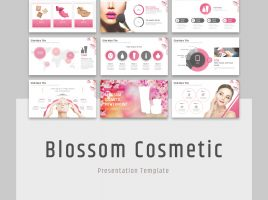 Blossom Cosmetic PowerPoint Wide