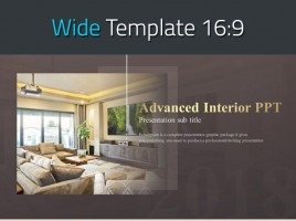 Advanced Interior PPT Wide