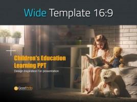 어린이 학습 교육 와이드 피피티