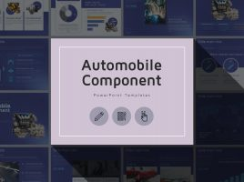 Automobile Component PPT Template