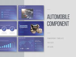 Automobile Component Template Wide