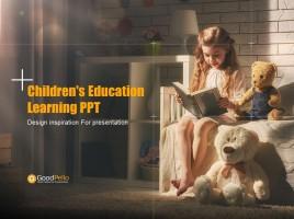 Children's Education Learning PPT