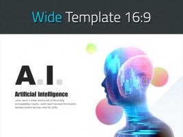 인공지능 와이드 템플릿