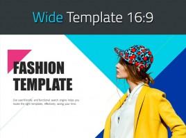 패션 와이드 템플릿