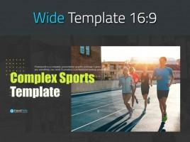 종합 스포츠 와이드 템플릿
