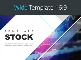 Stock PPT Template Wide