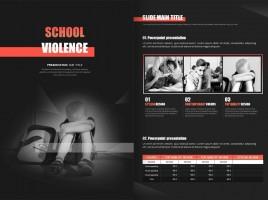 학교폭력 세로형 템플릿