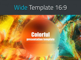 Colorful Presentation Template Wide