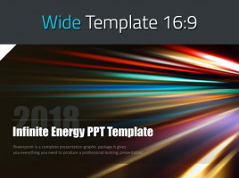 Infinite Energy PPT Template Wide