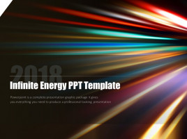 무한 에너지 피피티 템플릿