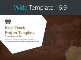 푸드트럭 프로젝트 와이드 템플릿