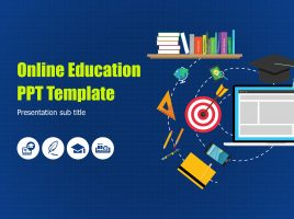 Online Education PPT Template