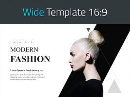 모던 패션 와이드 템플릿