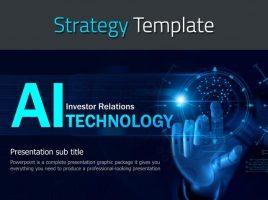 AI 기술 IR 템플릿