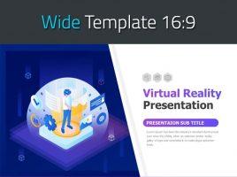 VR 프레젠테이션 와이드 템플릿